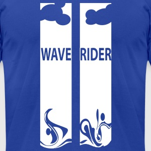 Wave Rider - Men's T-Shirt by American Apparel