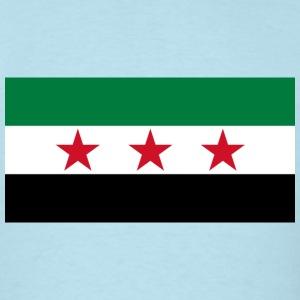 Syria Flag (pre-1963) - Men's T-Shirt