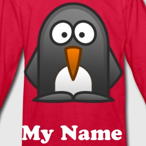 Penquin Kids Long Sleeve T-shirt - Kids' Long Sleeve T-Shirt