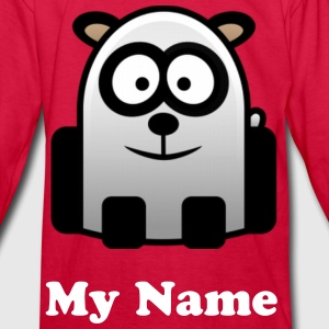 Panda Kids Long Sleeve T-shirt - Kids' Long Sleeve T-Shirt