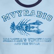 Design ~ Vintage distressed mvyradio ringer