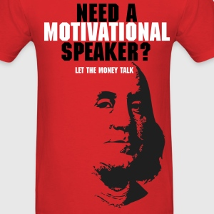 Motivational Speaker? (RED) - Men's T-Shirt