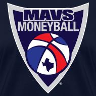 Design ~ MAVS MONEYBALL CREST woman's w/ MMB Texas on back
