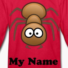 Loony Insane Ant  Kids Long Sleeve T-Shirt