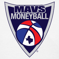 Design ~ MAVS MONEYBALL CREST woman's w/ MMB Texas on back