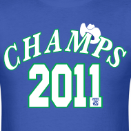 Design ~ 2011 World Champion Mavericks Throwback Shirt