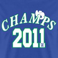 Design ~ 2011 World Champion Mavericks Throwback Shirt