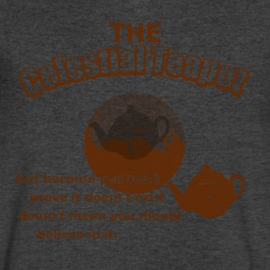 The Celestial Teapot - Men's V-Neck T-Shirt by Canvas