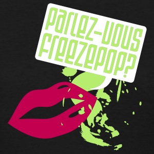 Freezepop: Parlez-Vous Girly Tee - Women's T-Shirt