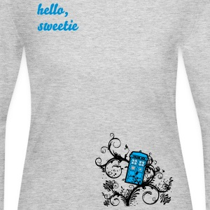 Tardis in the Ivy Long Sleeve Shirts - Women's Long Sleeve Jersey T-Shirt