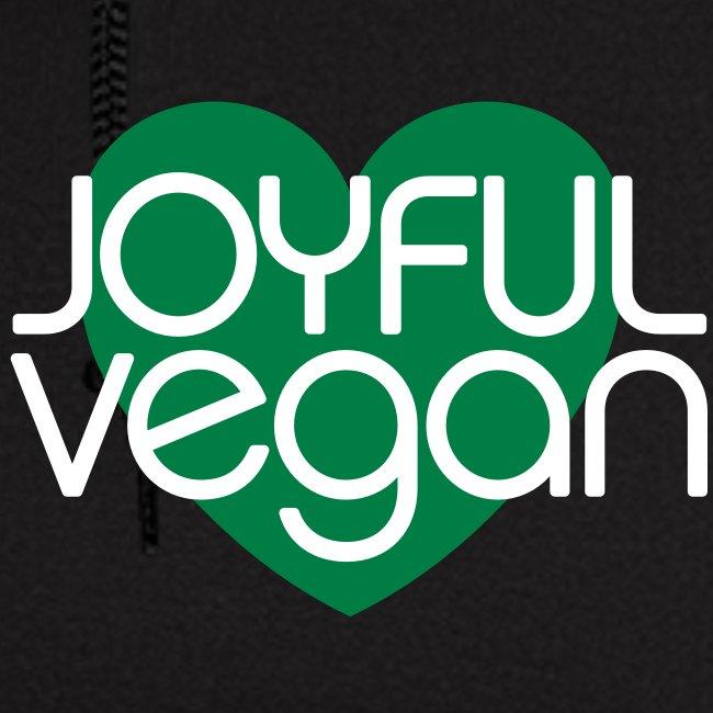 Joyful Vegan Zipper Hoodie
