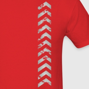 Men's Tire Tracks Graphic T-Shirt - Men's T-Shirt