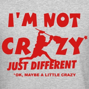 I'm Not Crazy, Lacrosse Goalie Long Sleeve Shirts - Crewneck Sweatshirt