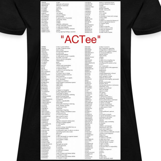 """ACTee"" - Black"