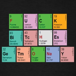 Pimptastic Periodic Table T-Shirts - Men's T-Shirt