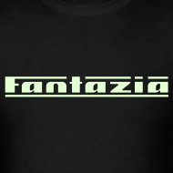 Design ~ Fantazia t-shirt with Glow in the Dark Print