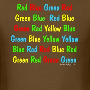 The Stroop Test - Men's T-Shirt