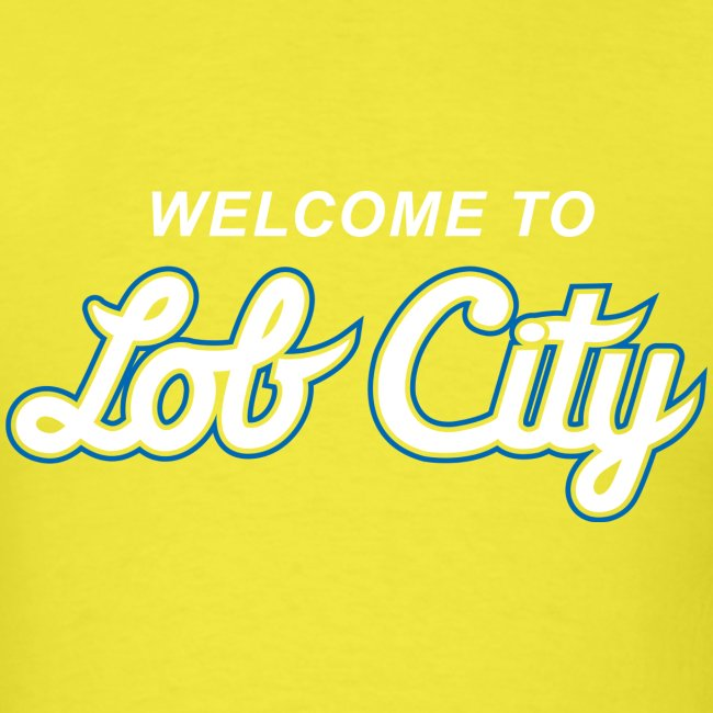 Lob City script t-shirt