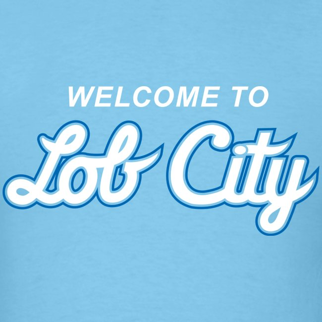Lob City script t-shirt