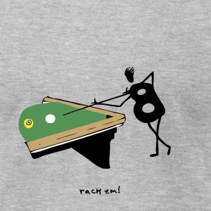 Billiards - rack'em! - Men's T-Shirt by American Apparel