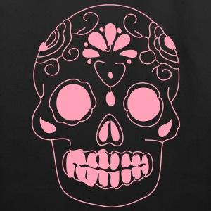 mexican sugar skull Bags  - Eco-Friendly Cotton Tote