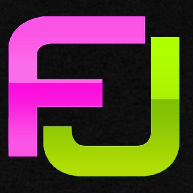 FJ Futuristic Logo Initials