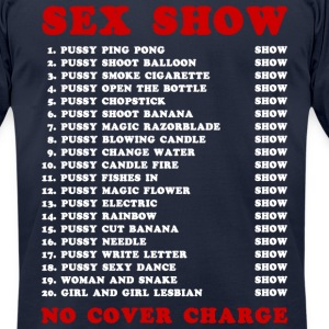 Bangkok Red Light Ping Pong Sex Show T-Shirts - Men's T-Shirt by American Apparel