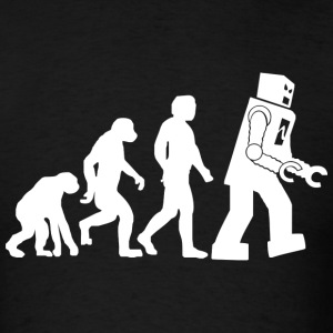 Big Bang Theory Evolution - Men's T-Shirt
