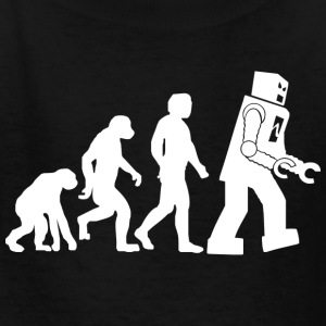 Big Bang Theory Evolution - Kids' T-Shirt