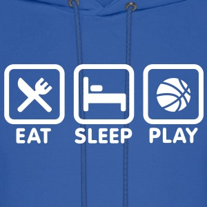 Eat Sleep Play Basketball Hoodies - Men's Hoodie