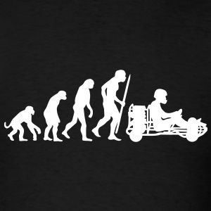 Evolution of karting  T-Shirts - Men's T-Shirt