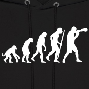 Evolution of boxing Hoodies - Men's Hoodie