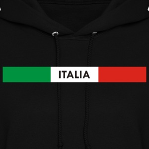 Italia green white red Hoodies - Women's Hoodie
