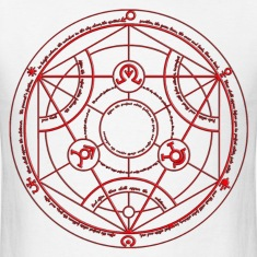 Full Metal Alchemist Circle Red Male