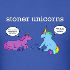 Stoner Unicorns T-Shirt (Men's Standard)