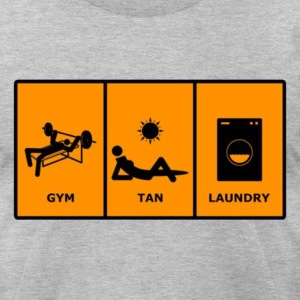 GTL Gym Tan Laundry Tee - Men's T-Shirt by American Apparel