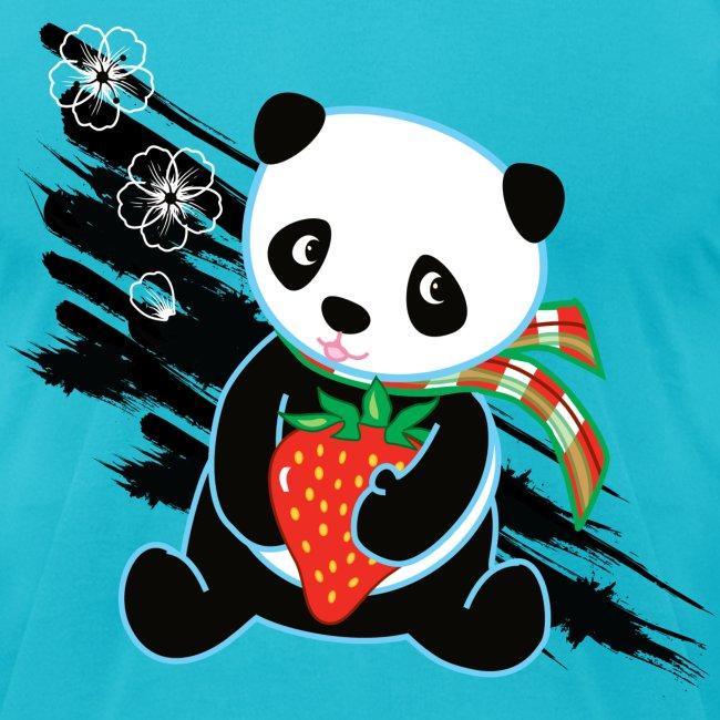 Cute Kawaii Panda T-shirt by Banzai Chicks