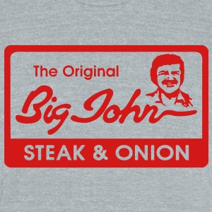 Big John T-Shirts - Unisex Tri-Blend T-Shirt by American Apparel