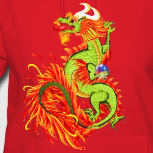 Flaming Dragon-Year Of The Dragon - Women's Hoodie
