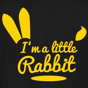 im a little rabbit T-Shirts - Men's V-Neck T-Shirt by Canvas