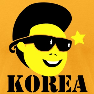 KOREA Kim Jong Il north korean dictator leader dead T-Shirts - Men's T-Shirt by American Apparel