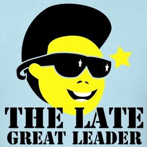 THE LATE GREAT LEADER Kim Jong Il North Korean Dictator T-Shirts - Men's T-Shirt