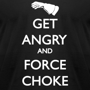 Get Angry Guys - Men's T-Shirt by American Apparel
