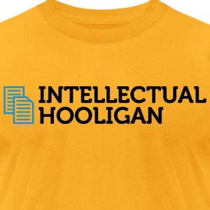Intellectual Hooligan 2 (dd)++ T-Shirts - Men's T-Shirt by American Apparel