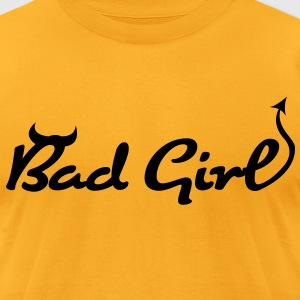 Bad Girl (1c)++ T-Shirts - Men's T-Shirt by American Apparel
