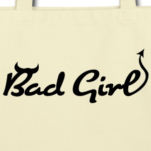 Bad Girl (1c)++ Bags  - Eco-Friendly Cotton Tote