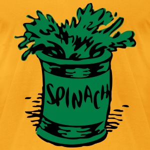 Spinach vec T-Shirts - Men's T-Shirt by American Apparel