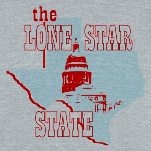 Texas t-shirt - Unisex Tri-Blend T-Shirt by American Apparel
