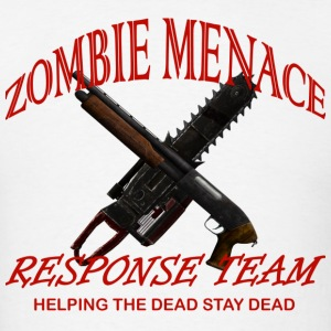 zombie menace response team - Men's T-Shirt