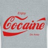 enjoy cocaine T-Shirts - Unisex Tri-Blend T-Shirt by American Apparel
